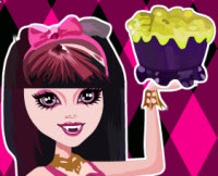 Monster High konyha takar…