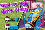 Monster High cipő dísz�…