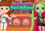 Monster High - Venus McFlytrap sminkes játék