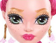 Gigi Grant Dress Up – Monster High Spiele