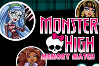 Monster High Memory Match