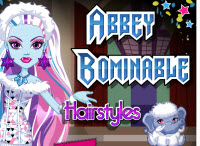 Abbey Bominable Hairstyles game