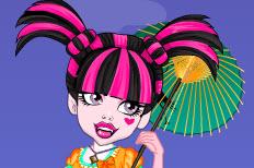 Asiatische Schönheit – Draculaura