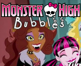 Monster High bubble Spiel