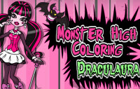 Monster High Coloring – Draculaura