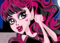 Draculaura Scaris Style - Monster High Games
