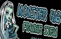 Monster High Frankie Stein Coloring