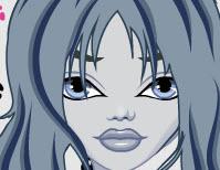 Ghoulia Yelps frizurája