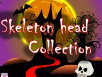 Skeleton Kopf Sammlung