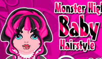 Monster High Baby Make Cute Hairstyle