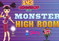 Monster High Bedroom Decor