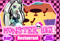 Monster High Restaurant Spiele