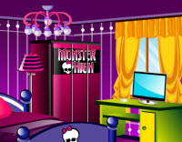 Monster High online rajongói szoba