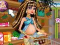 Schwangere Cleo De Nile Baby-Einkaufs