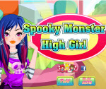 Kísérteties Monster High lány