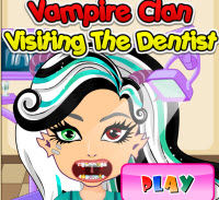 Monster High Visiting Dentist Game